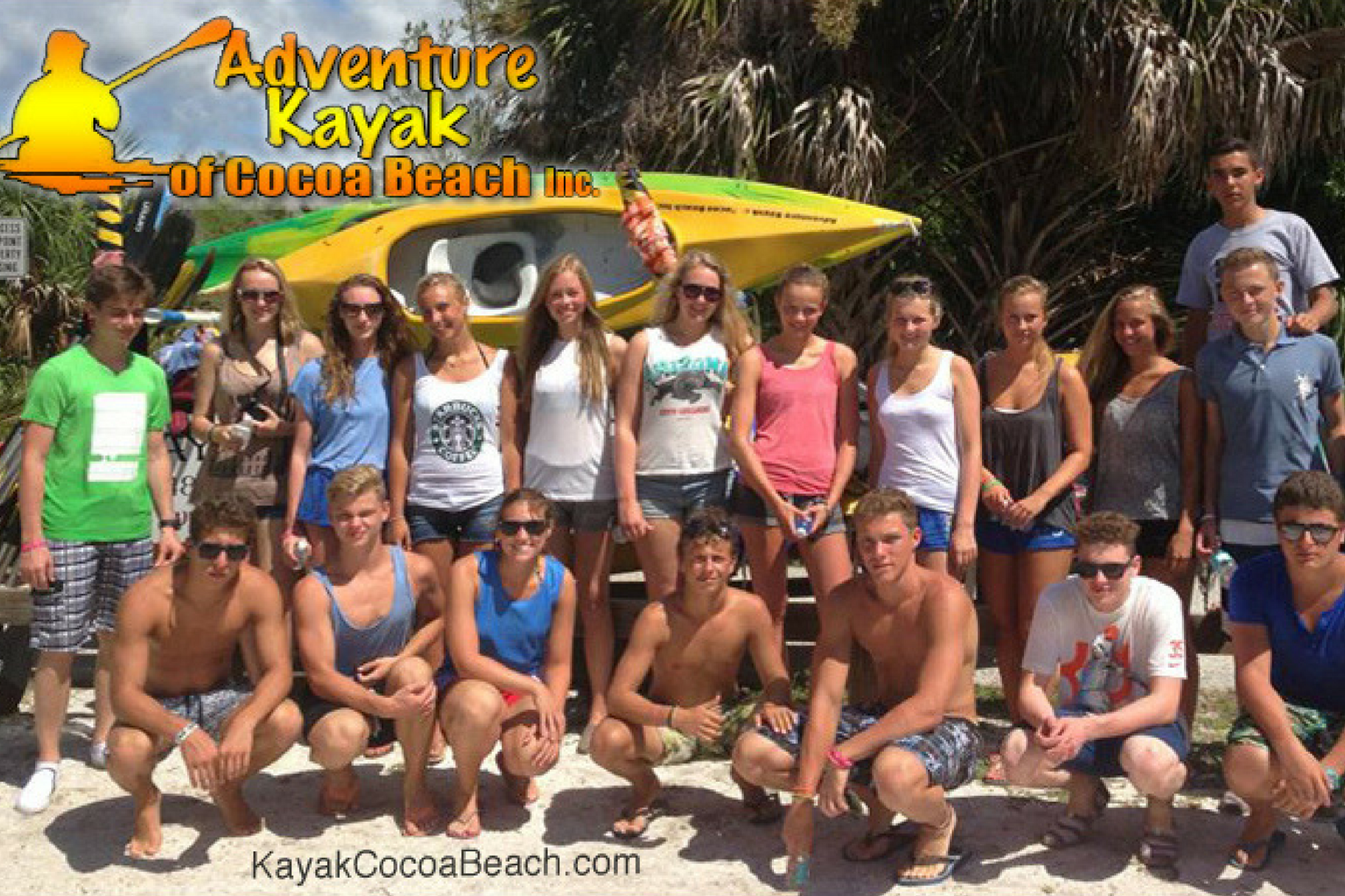 large group kayak tours