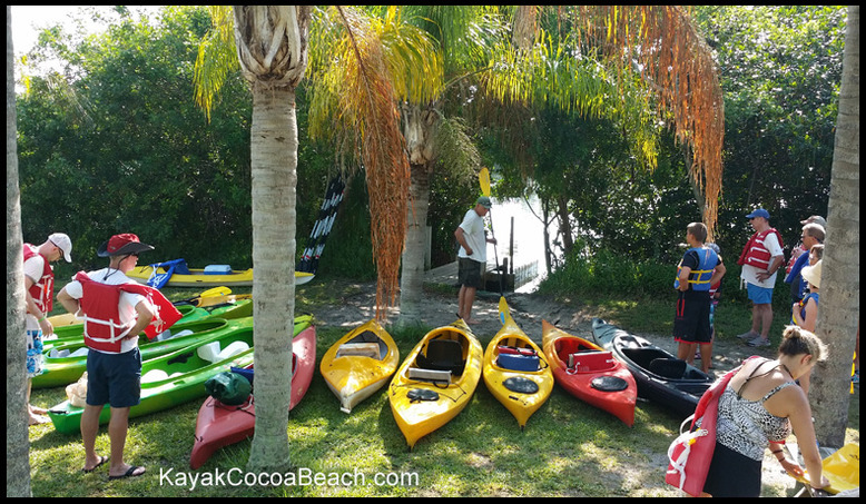 adventure kayak tour cocoa beach