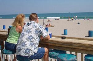 coconuts Cocoa Beach front Bar
