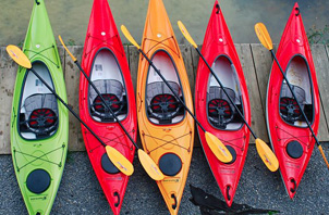 village Outfitters kayak sales