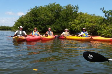 kayak tours in cocoa beach