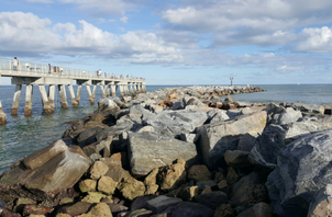 Jetty Park Beach and Pier
