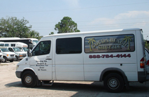 cocoa beach Shuttle transportation