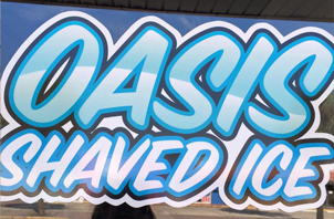 Oasis Shaved Ice cocoa beach
