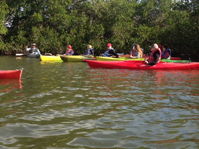 group kayak tours in cocoa beach