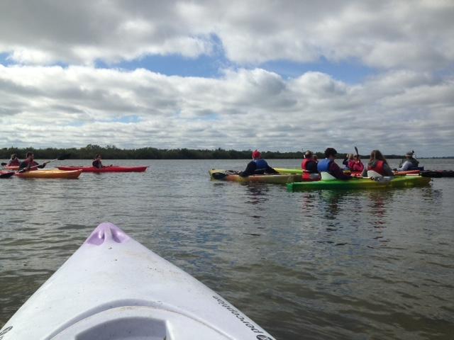 a beautiful day for a kayak tour