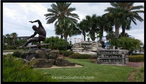 Downtown Cocoa Beach