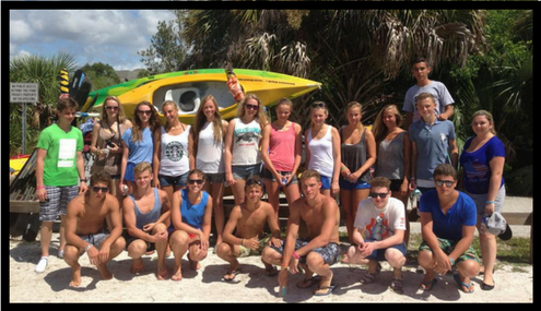 Large group kayaking tours in cocoa beach