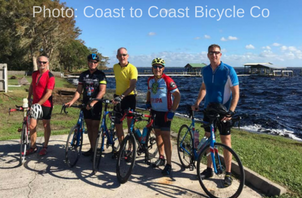 coast to coast bicycle tours