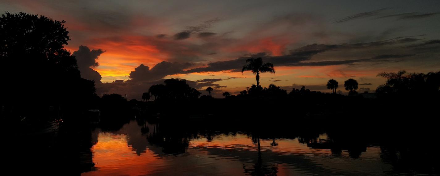 merritt island sunset