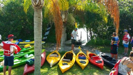 Guided Kayak Tours in Cocoa Beach Florida