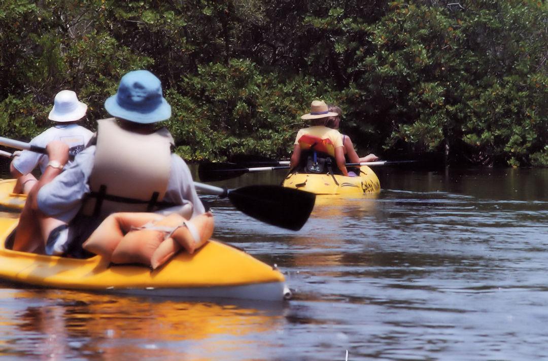 Kayaking Near Cocoa Beach Florida