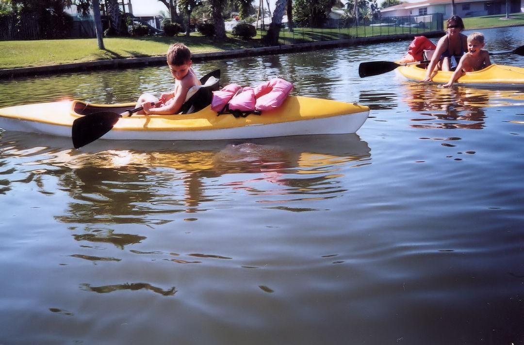Kayaking Near Cocoa Beach