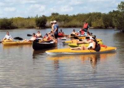 Kayaking Tour Group In Banana River