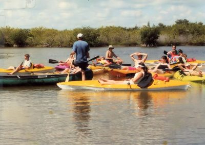Kayaking Tour Group Near Cocoa Beach Florida