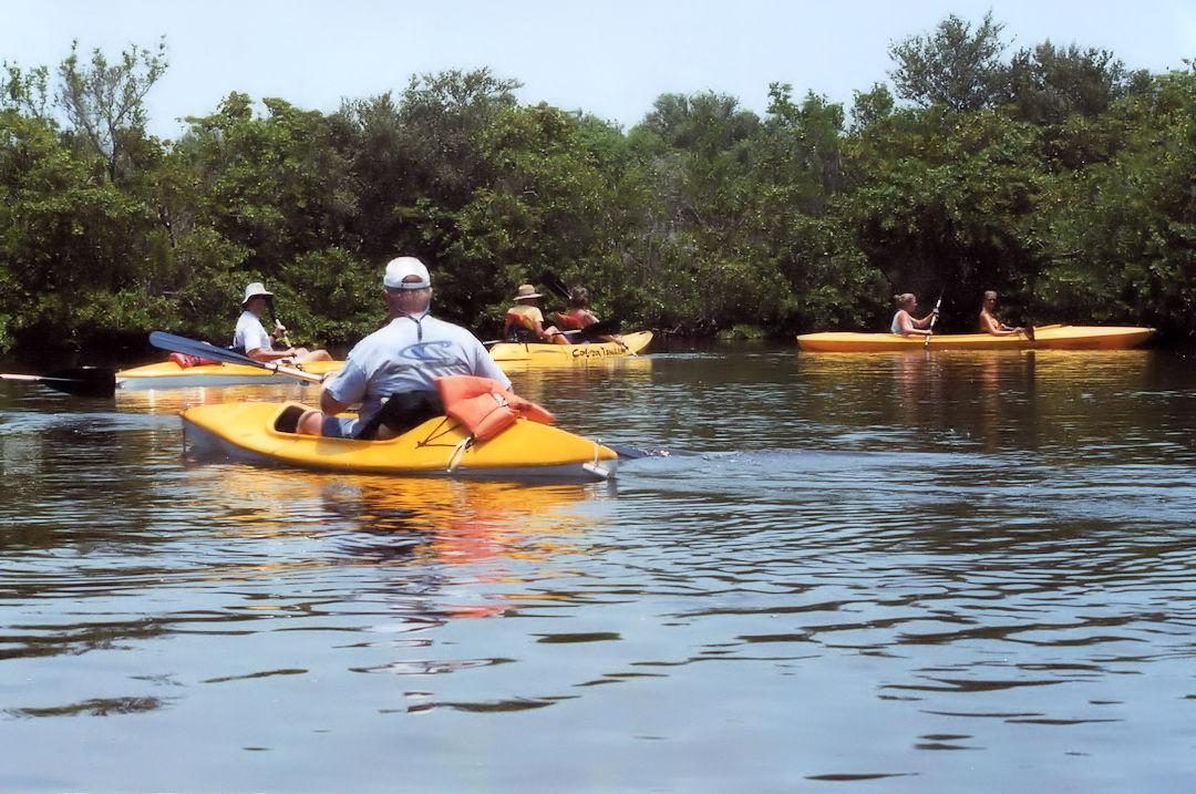 Kayaking Tour Near Cocoa Beach Florida