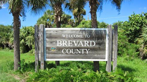 Brevard County Florida Sign