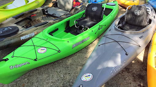 Tripper Sit In One Seat Kayak