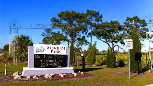 Wickham Park Melbourne Florida