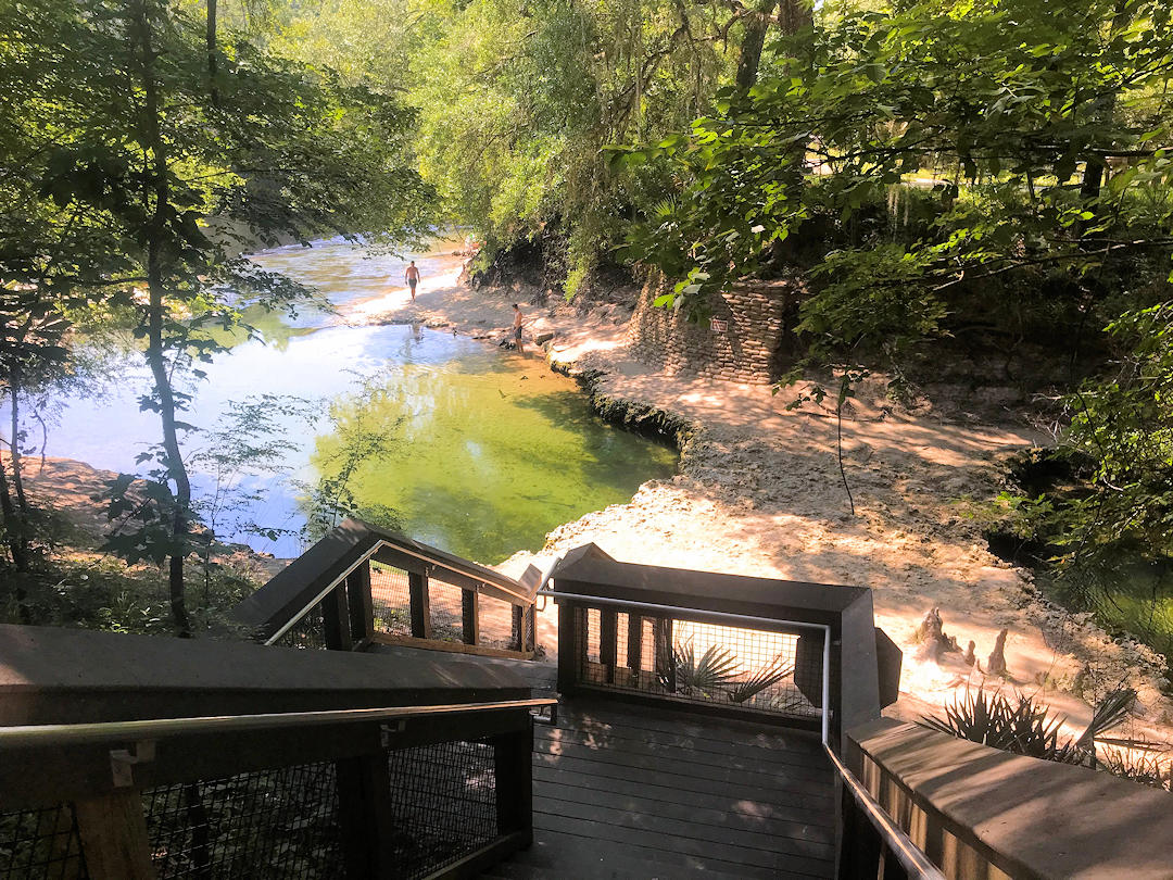 Blue Springs State Park Stairs