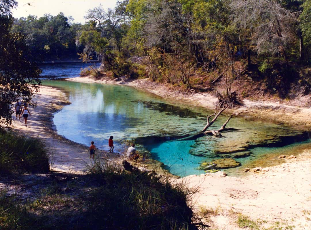 Little River Springs County Park Picture from 1975