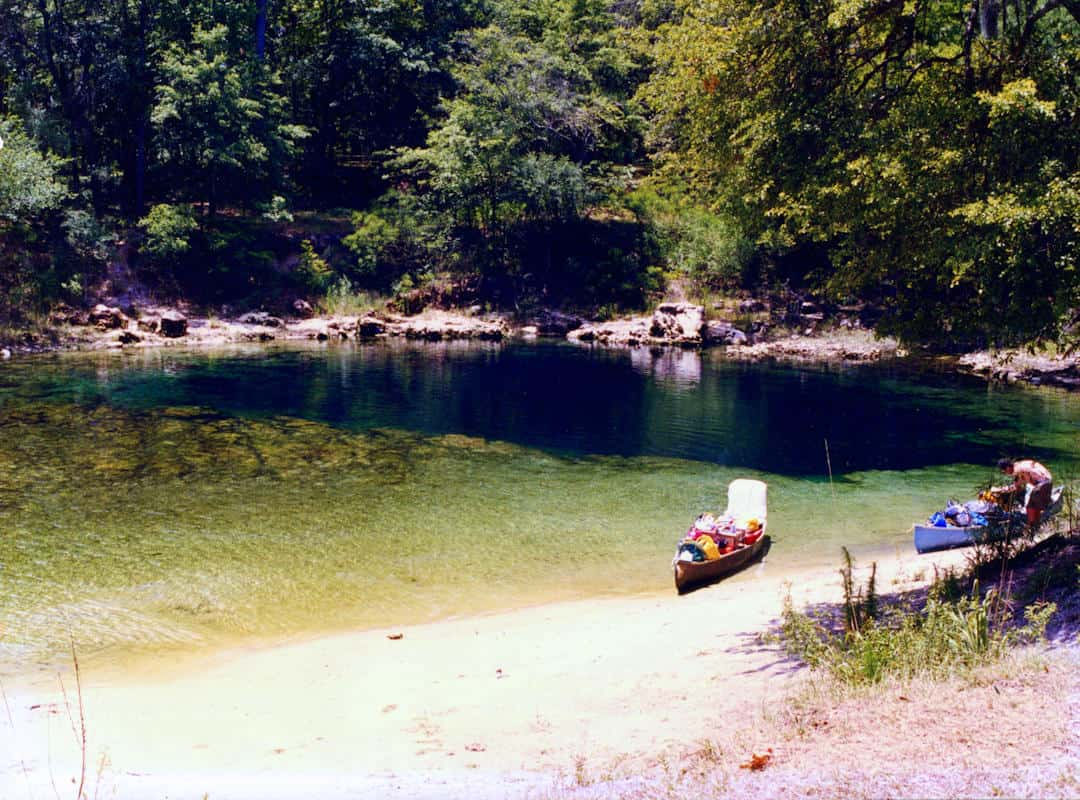 Troy Springs State Park Picture from 1975
