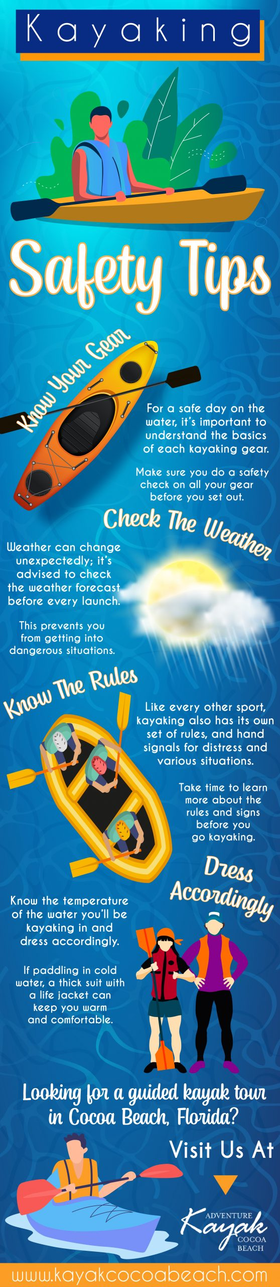 Kayaking Saftey Tips