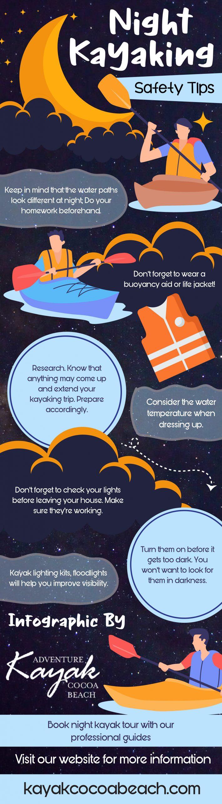 Night Kayaking Safety Tips