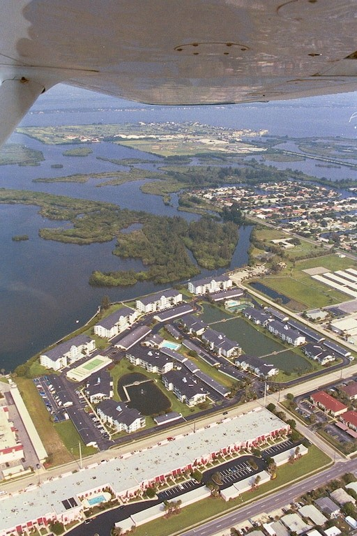 Aerial View of Cocoa Beach