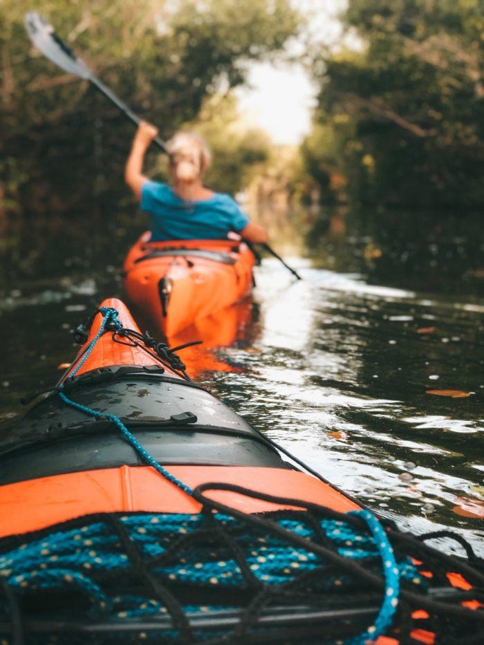 Kayak tour in Cocoa Beach.
